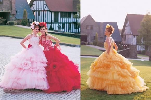 Escolha Vestido Colorido para se Casar
