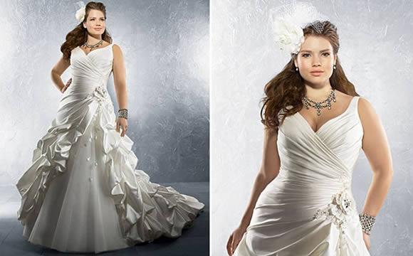 Vestido de Noiva Ideal para Quem é Gordinha