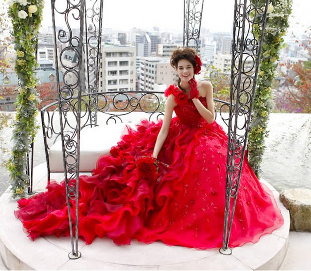 Personalidade para Casar com Vestido Colorido