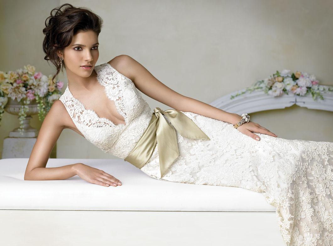 Vestido de Noiva de Renda é Lindo e Está Super em Alta
