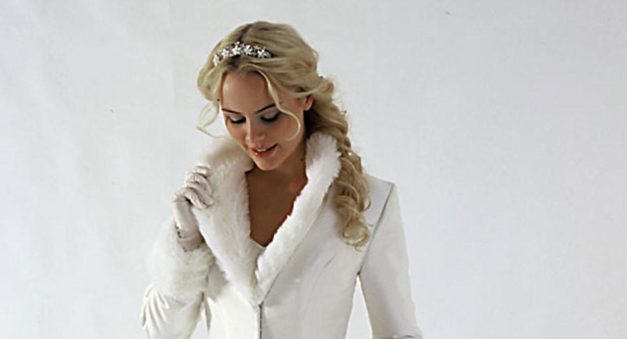 Vestido de Noiva no Inverno - Dá para Não Sentir Frio?