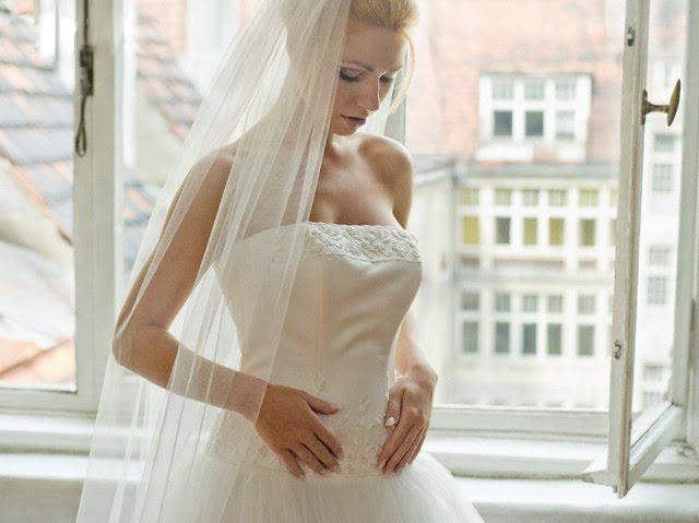 Escolha o Véu de Acordo com seu Vestido de Noiva